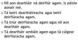 Dearthaireacha agus deirfiúireacha