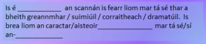 Scannán is fearr liom